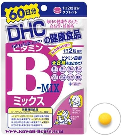 อาหารเสริม DHC Vitamin B-MIX (60วัน)