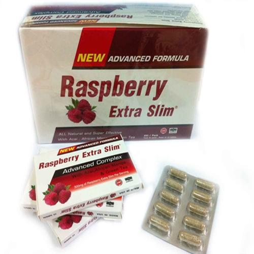 อาหารเสริม Raspberry Extra Slim