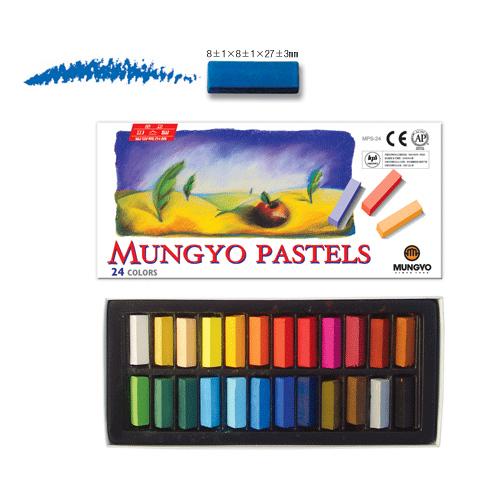 MUNGYO Pastels ชอล์คเปลี่ยนสีผม 24 Colors.