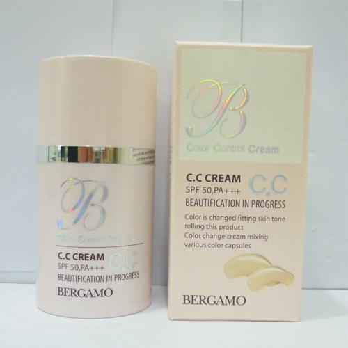 Bergamo Color Control Cream CC Cream SPF 50 PA+++