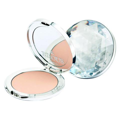Bisous Bisous Pink Martini Diamond Powder Pact Q10 Vitamin B3 SPF25 PA++#1