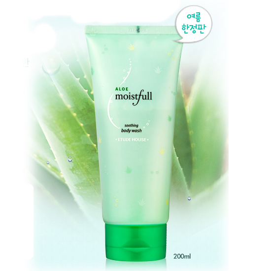 Etude House Aloe Moistfull Soothing Body Wash
