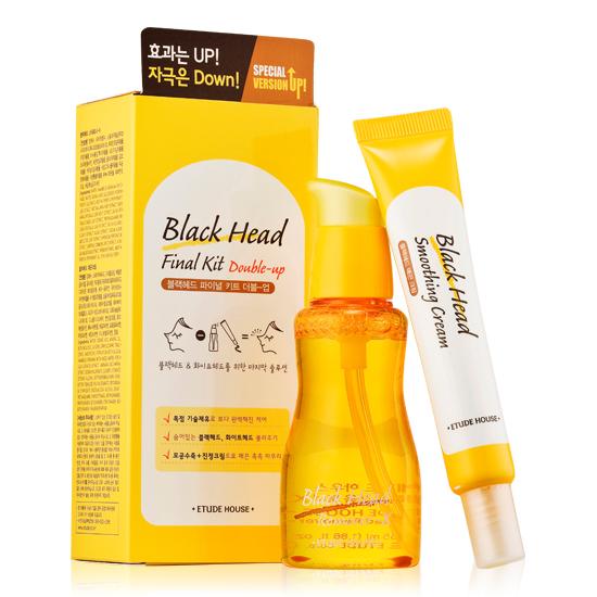 Etude House Black Head Final Kit (Double-Up)