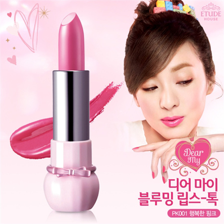 Etude House Dear My Blooming Lips-Talk  #PK001