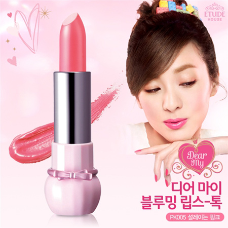 Etude House Dear My Blooming Lips-Talk  #PK005