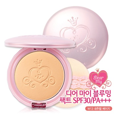Etude House Dear My Blooming Pact SPF 30/PA+++  #W13 Natural Beige