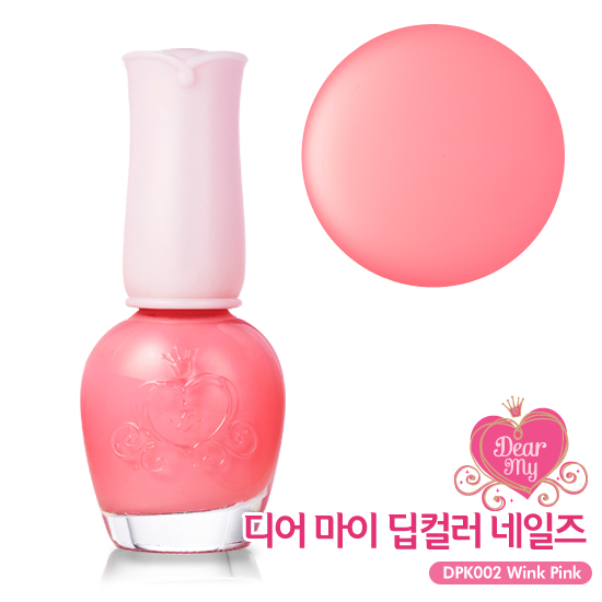 Etude House Dear My Deep Color Nails #DPK002 Wink Pink