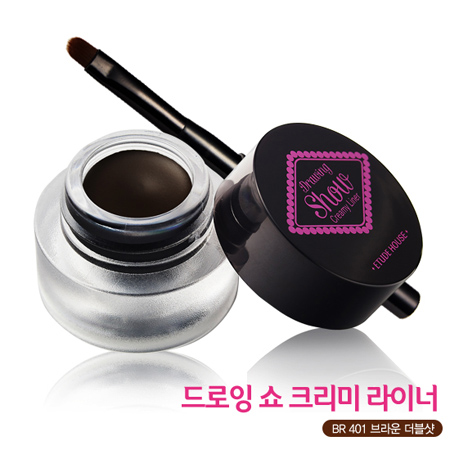 Etude House Drawing Show Creamy Liner  #BR401 (Brown)
