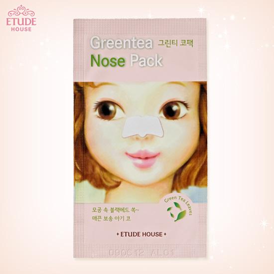 Etude House Green Tea Nose Pack