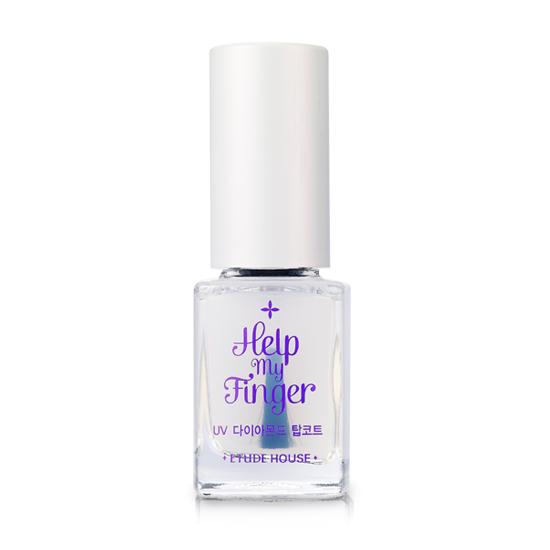 Etude House Help My Finger #UV Diamond Top Coat