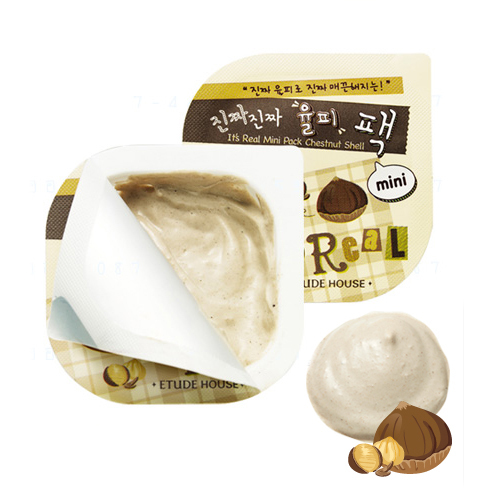 Etude House It's Real Mini Pack #Chestnut Shell
