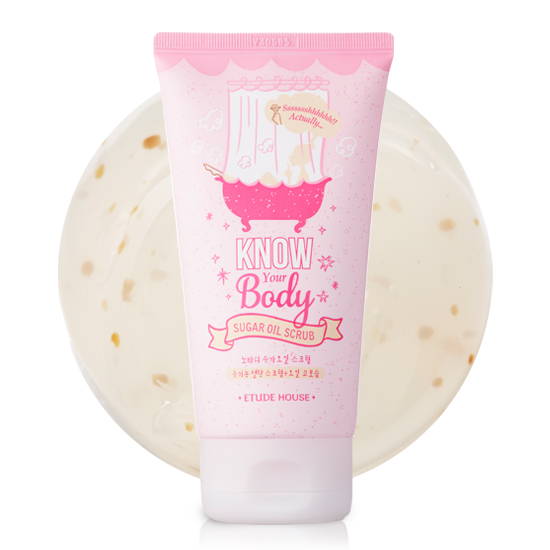 Etude House Know Your Body Sugar Oil Scrub