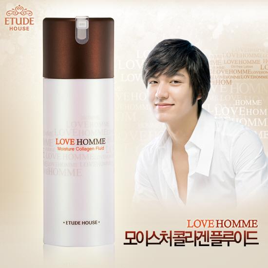 Etude House Love Homme Moisture Collagen Fluid