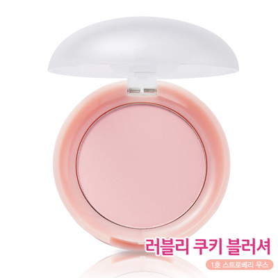 Etude House Lovely Cookie Blusher New Upgrade #1 Strawberry Mousse