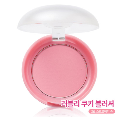 Etude House Lovely Cookie Blusher New Upgrade #2 Strawberry Choux