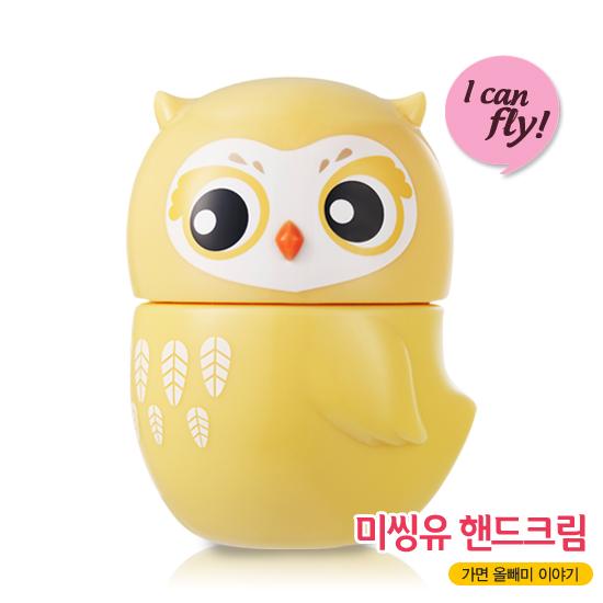 Etude House Missing U I Can Fly Hand Cream #4 Barn Owl - Peach