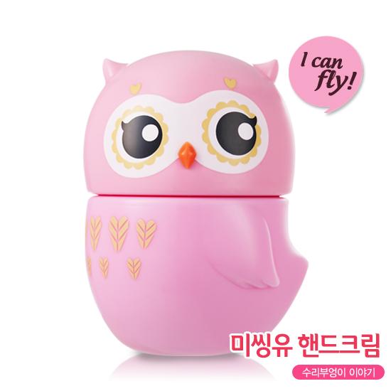 Etude House Missing U I Can Fly Hand Cream #1 Eagle Owl - Cheery