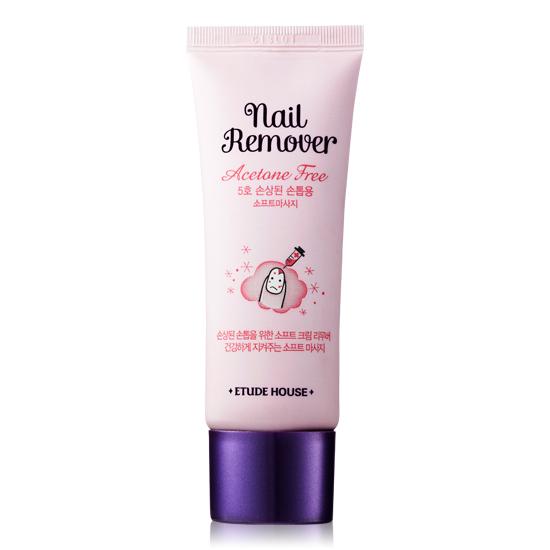 Etude House Nail Remover Acetone Free #5 Soft Massage