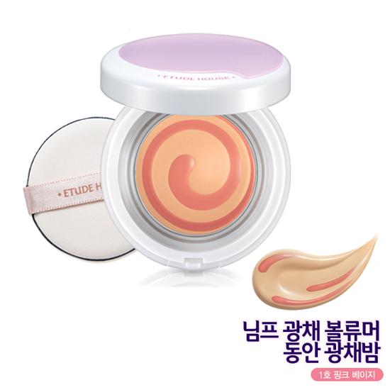 Etude House Nymph Aura Volumer Baby Glow Balm SPF42 PA++ #01 Pink Beige