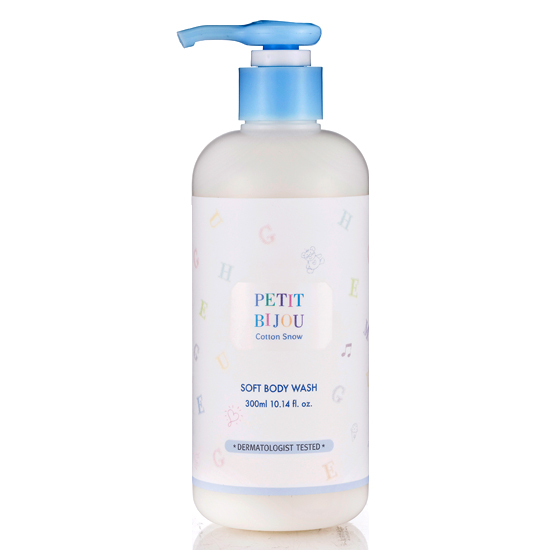 Etude House Petit Bijou Cotton Snow Soft Body Wash
