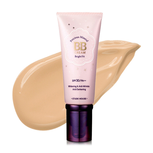 Etude House Precious Mineral BB Cream Bright Fit SPF30/PA++ #N02 Light Beige