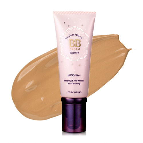 Etude House Precious Mineral BB Cream Bright Fit SPF30/PA++ #W15 Sand Beige