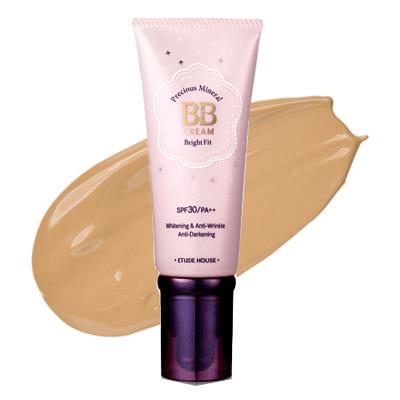 Etude House Precious Mineral BB Cream Bright Fit SPF30/PA++ #W24 Honey Beige