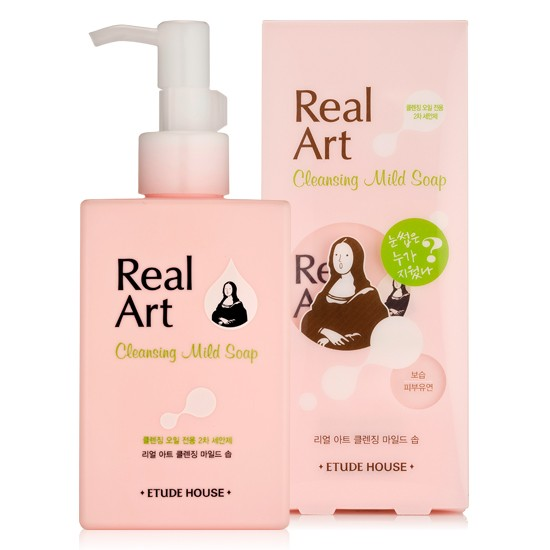 Etude House Real Art Cleansing Mild Soap