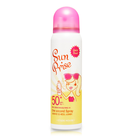 Etude House Sun Prise One Second Spray SPF 50+ PA+++