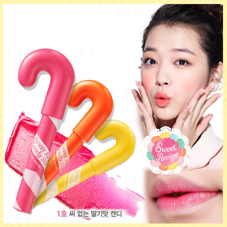 Etude House Sweet Recipe Candy Stick#01 Strawberry Flavored
