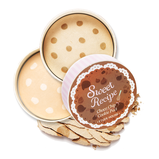 Etude House Sweet Recipe Choco Chip Cookie Pact #2 Choco Chip