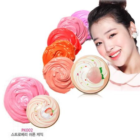 Etude House Sweet Recipe Cupcake All Over Color #PK002
