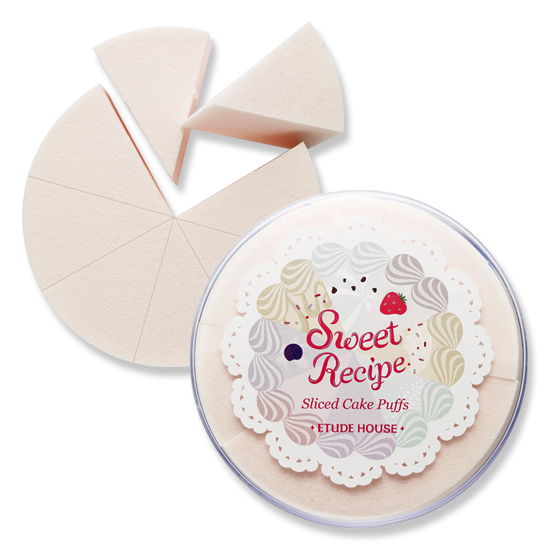 Etude House Sweet Recipe Sliced Cake Puffs