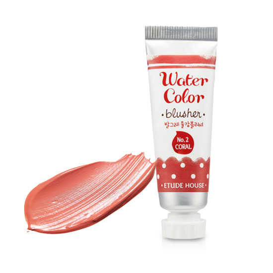 Etude House Water Color Blusher #02 Peach