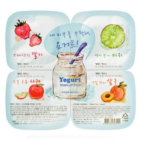 Etude House Yogurt Wash Off Pack