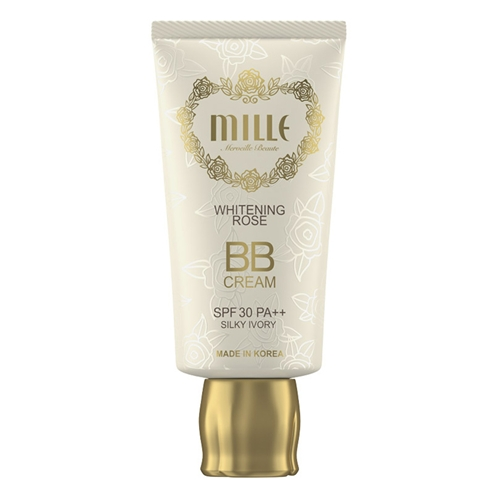 Mille Mille Whitening Rose BB Cream SPF 30 PA+++ #1 Silky Ivory