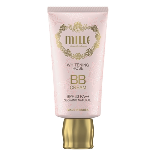 Mille Mille Whitening Rose BB Cream SPF 30 PA+++ #2 Glowing Natural