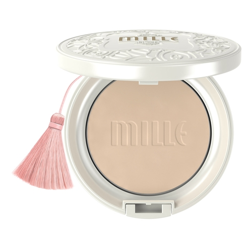 Mille Mille Whitening Rose Powder Pact SPF 48 PA+++ #02 Natural