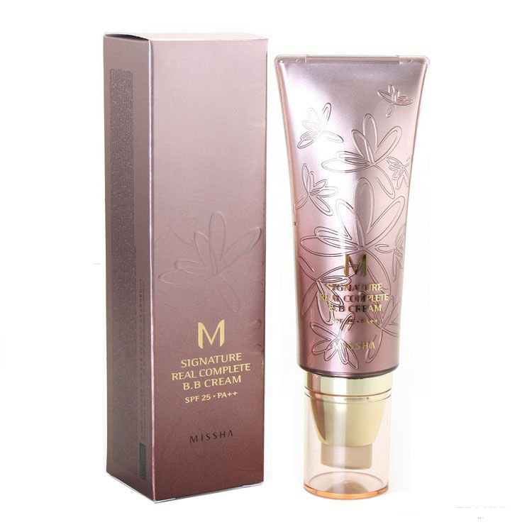 Missha M Signature Real Complete BB Cream SPF25 PA++ #21 Light Pink Beige