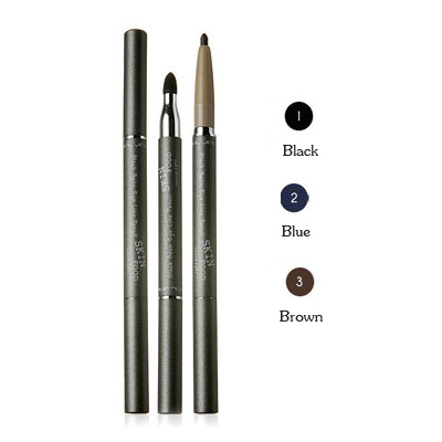 Skinfood Black Bean Eye Liner Pencil   #01 Black