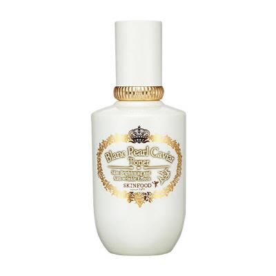 Skinfood Blanc Pearl Caviar Toner (Brightening + Anti-Wrinkle)