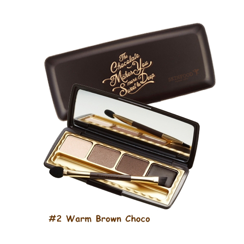 Skinfood Choco Smoky Eye Palette  #2 Warm Brown Choco