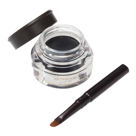 Skinfood Choco Smoky Waterproof Eyeliner Jam #1 Black