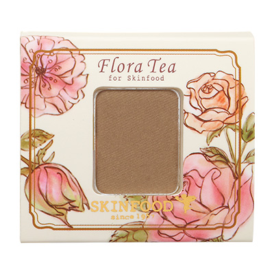 Skinfood Flora Tea My Short Cake Eye Shadow (Silk Type) #SBR01
