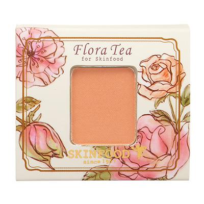 Skinfood Flora Tea My Short Cake Eye Shadow (Silk Type) #SPH01