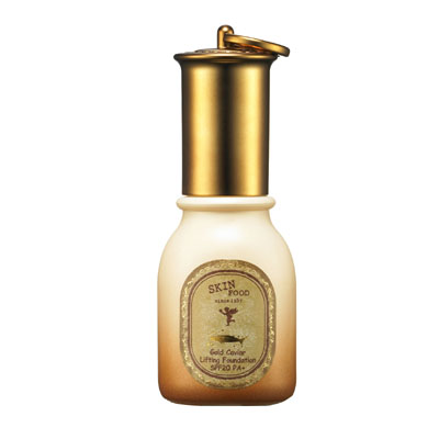 Skinfood Gold Caviar Lifting Foundation SPF20 PA+  #2 Natural Beige