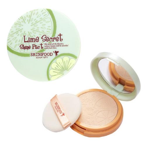 Skinfood Lime Secret Shine Pact  #2 Beige Shine
