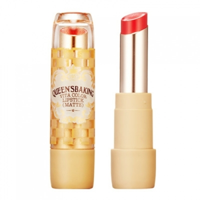Skinfood Queen's Baking Vita Color Lipstick #RD04
