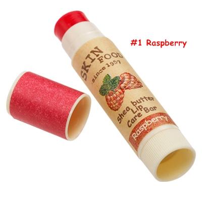 Skinfood Shea Butter Lip Care Bar  #1 Raspberry