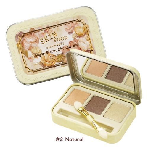 Skinfood Sugar Bloom Shadow Box  #2 Natural
